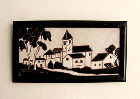 Cuadros arte en las venas for Azulejo a cuadros blanco y negro barato