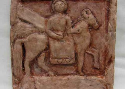 Relieve en terracota