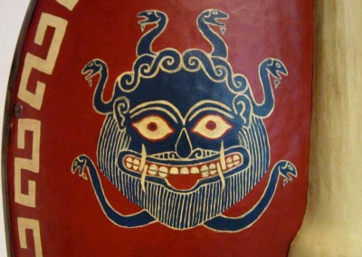 Detalle de escudo, Medusa